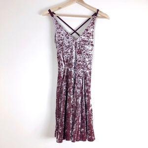 American Eagle Outfitters Velvet Dress